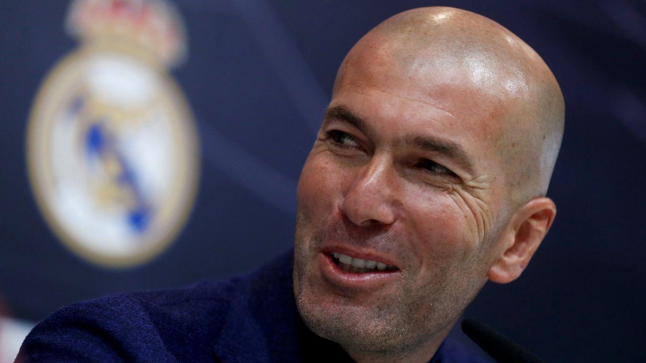 En directo: Presentación de Zidane como entrenador del Madrid.Alberto Suárez Laso
