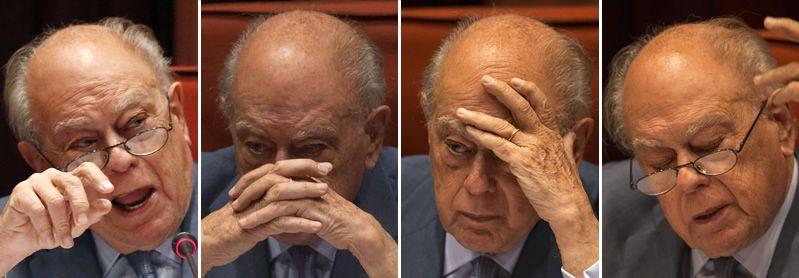 Los Pujol, una familia bajo sospecha.El expresidente de la Generalitat, en su comparecencia