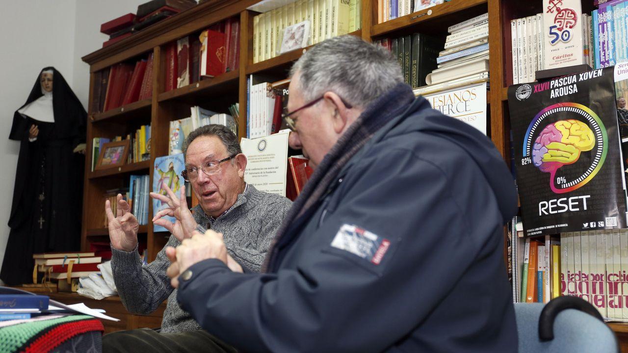 El día despuésen Artes, una de las zonas más afectadas por el temporal.Fran Rei y Félix Rodríguez presentan «Saaabor!» en Outeiro de Rei