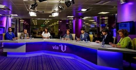 El programa «Vía V», que dirige Fernanda Tabarés, analizó el problema del narcotráfico.