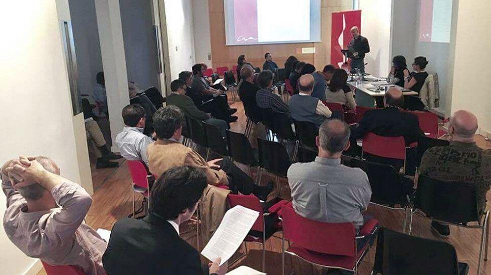 Asamblea del Colegio de Arquitectos de Asturias.Asamblea del Colegio de Arquitectos de Asturias