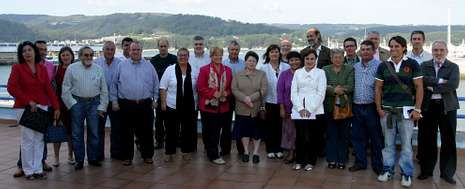 Seis años atrás, en Celeiro, echaba a andar el Grupo de Acción Costeira A Mariña-Ortegal, pero con el tiempo varió componentes.