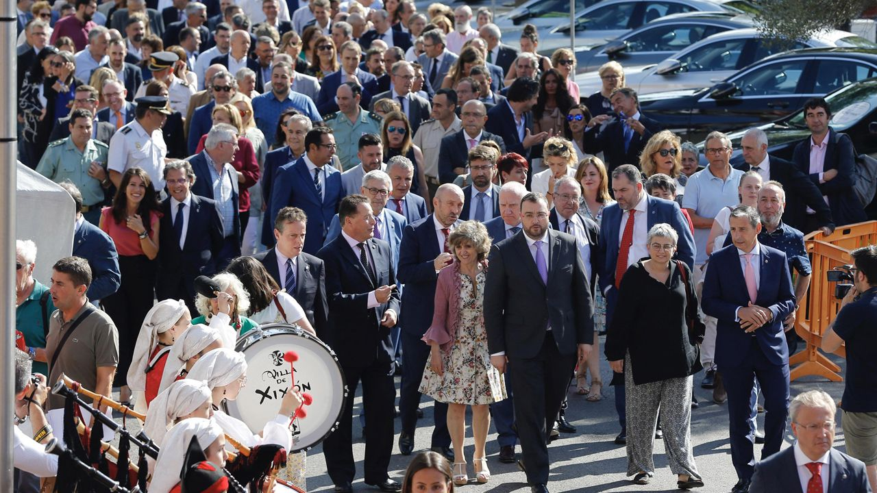 Rubén Pérez Carcedo, concejal de Ciudadanos en el Ayuntamiento de Gijón.Inauguración de FIDMA 2019