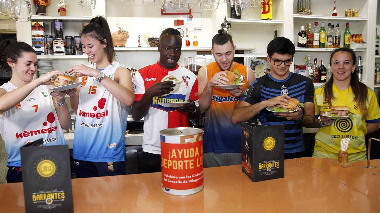 El Barrantes presenta su hamburguesa deportiva