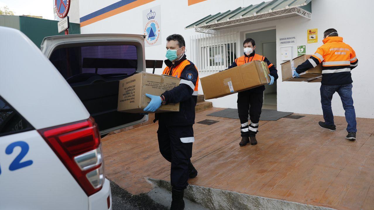 El trabajo de los técnicos y voluntarios de Protección Civil se ha multiplicado por la pandemia