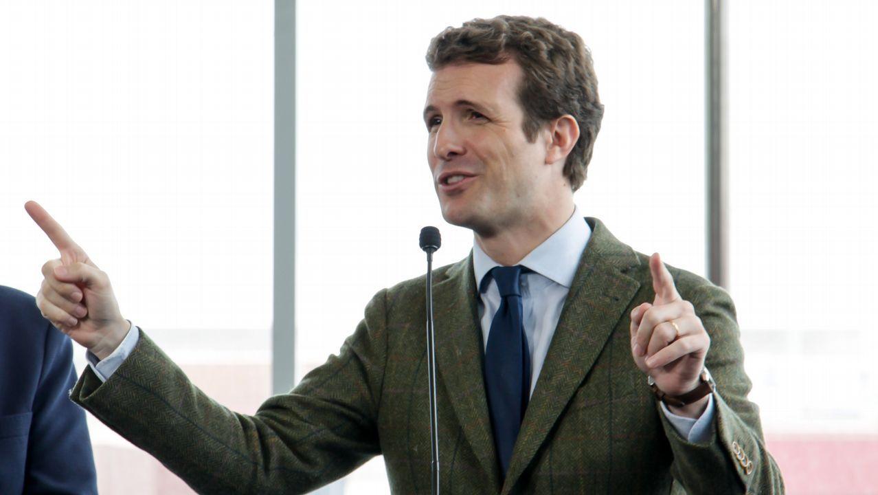Casado: «Sánchez prefiere manos manchadas de sangre a manos pintadas de blanco».José Manuel Villegas, en una imagen de archivo