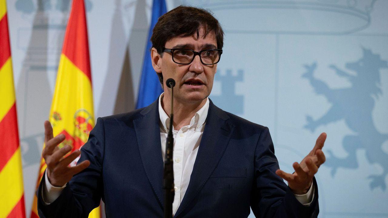 Salvador Illa emplaza a Madrid a «escuchar a la ciencia» y a «revisar sus decisiones»