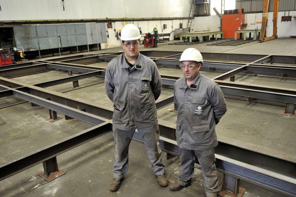 Sergio Ferreira y Gerónimo Piñón llevan unos meses en la empresa.