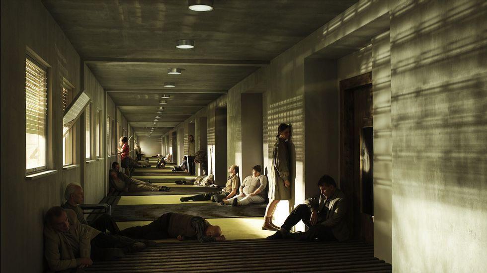 Noche de san Xoan cacharelas hogueras.Las dos exposiciones podrán verse en el CGAC durante todo el verano