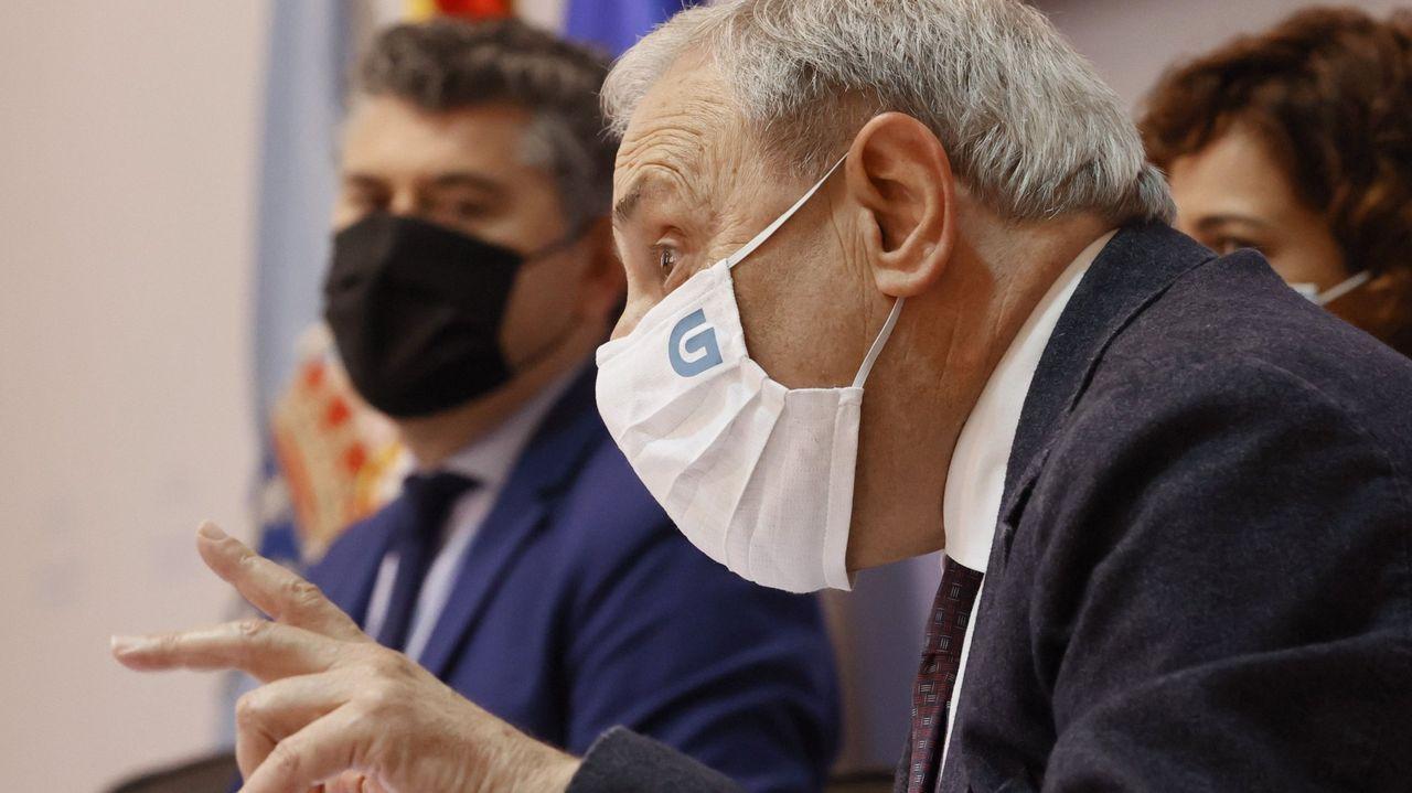 José Martínez Couselo .Alfonso Sánchez Izquierdo, director xeral de la CRTVG