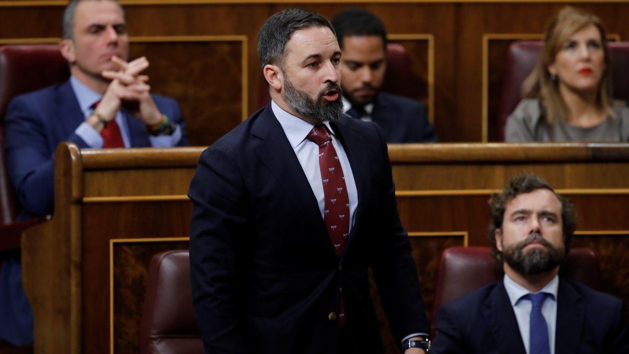 Votación de Santiago Abascal
