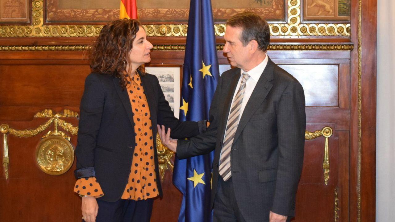 La alcaldesa de Toledo Milagros Tolón (en la imagen participando en la reunion de la FEMP de la que es vicepresidenta) es una de las socialistas que ha destacado las bondades del acuerdo