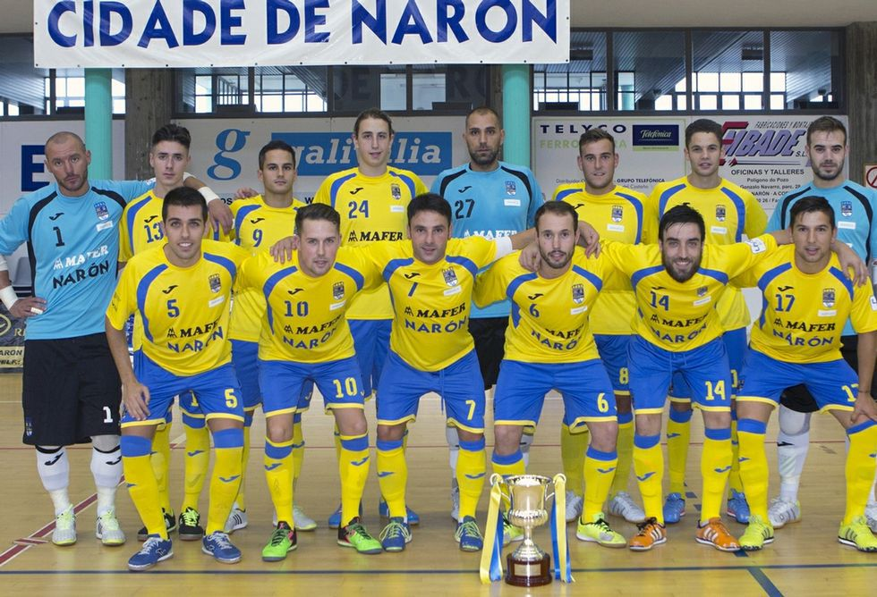 El Cidade de Narón mantiene el bloque de la pasada temporada de liga en la Segunda B.
