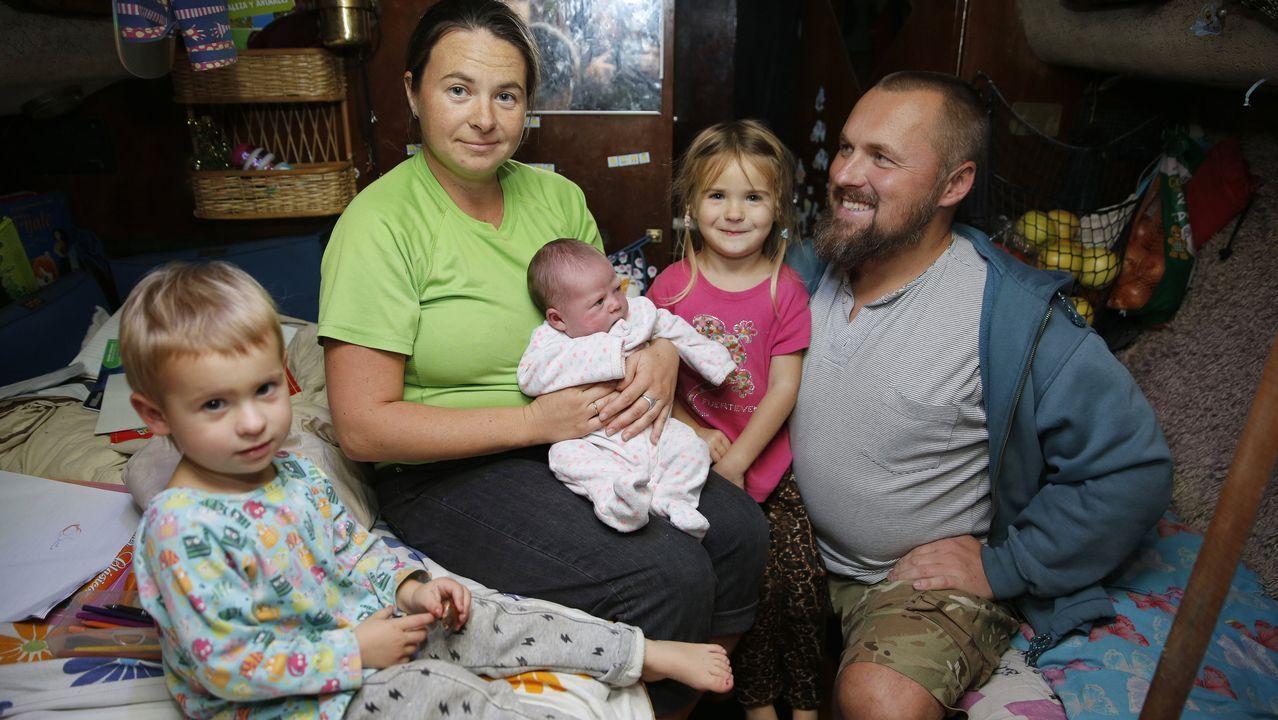 El bebé que nació a bordo.