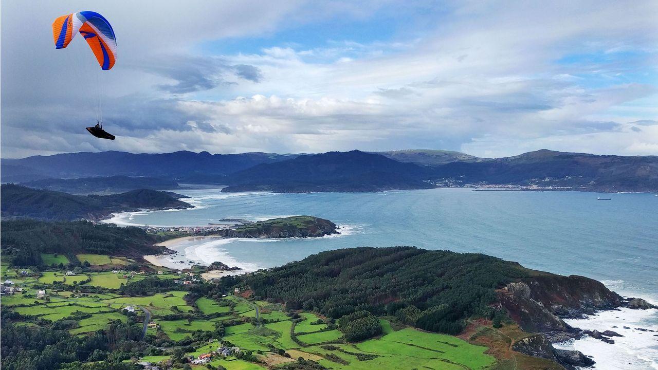 Costa de Ortigueira desde Loiba