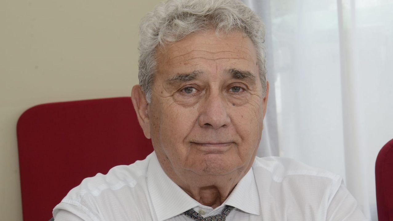 Xosé Manuel Piñeiro, este outono en Santiago