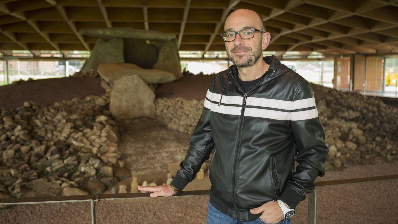 Callos y Mägo de Oz, la fórmula del éxito en Carnés: ¡mira las imágenes!.Tanxugueiras, en Paiosaco