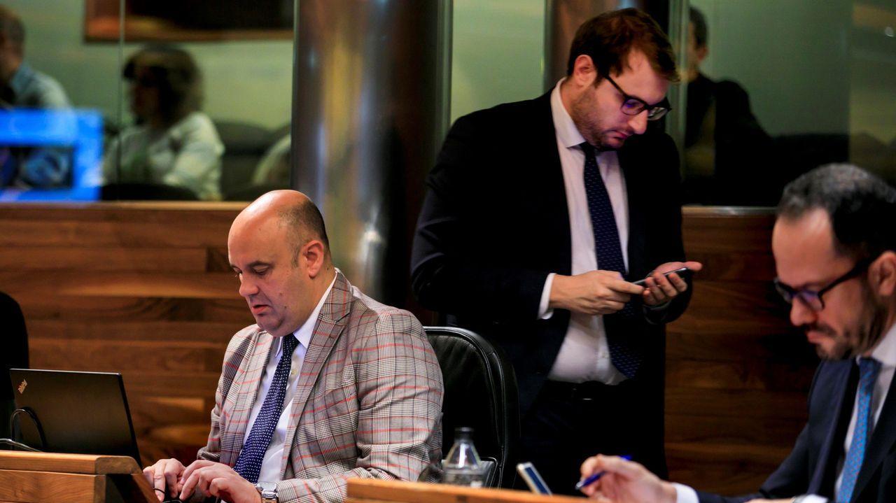 Asturias se reivindica en Fitur.Pedro Leal y Adrián Pumares
