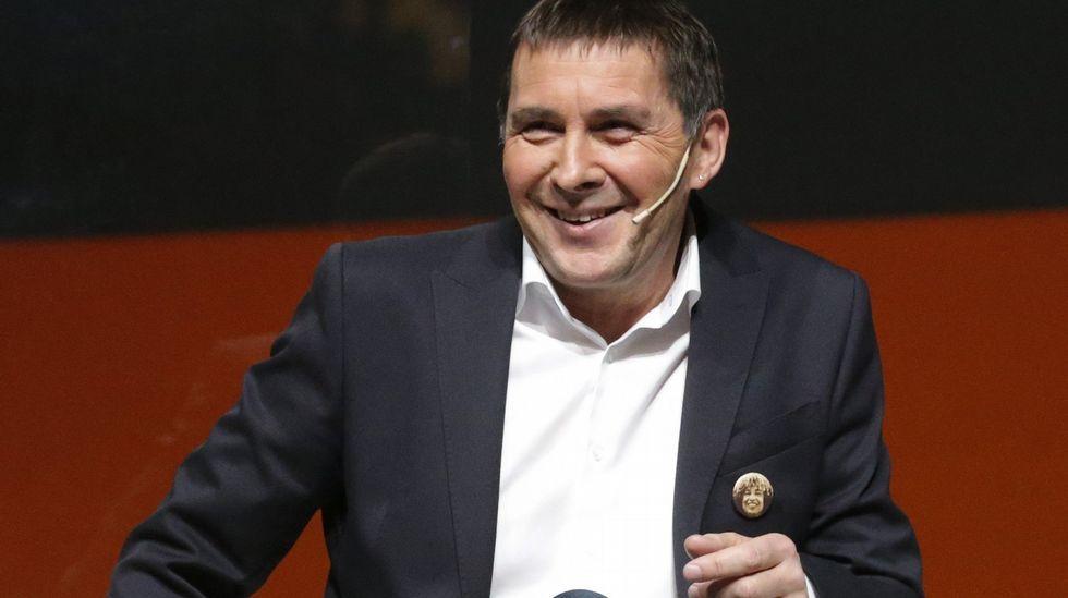 Fernández Díaz y la «kale borroka» en Barcelona.Otegi, recibido por parlamentarios de la CUP