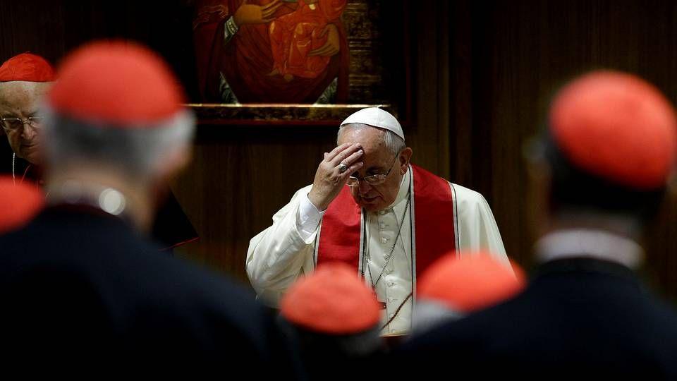 El papa Francisco, en el reciente sínodo