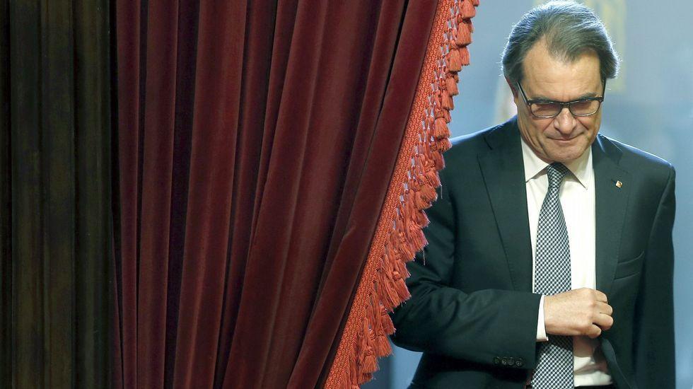 Pere Macías, esta mañana en el Congreso