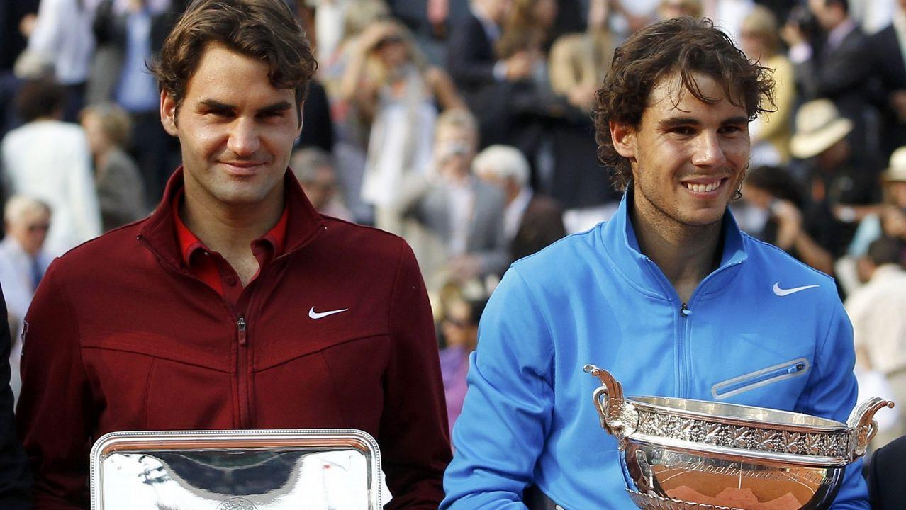 Cuarta final contra Roger Federer en 2011 y sexto título