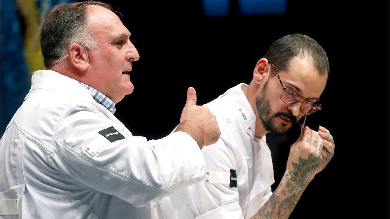 El cocinero asturiano José Andrés participado en el XX congreso San Sebastián Gastronomika