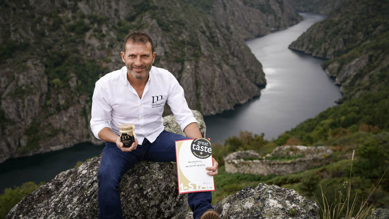Alfonso Iglesias, gerente de Melsacra Selecta, galardonado en el Internacional Great Taste Awards 2020