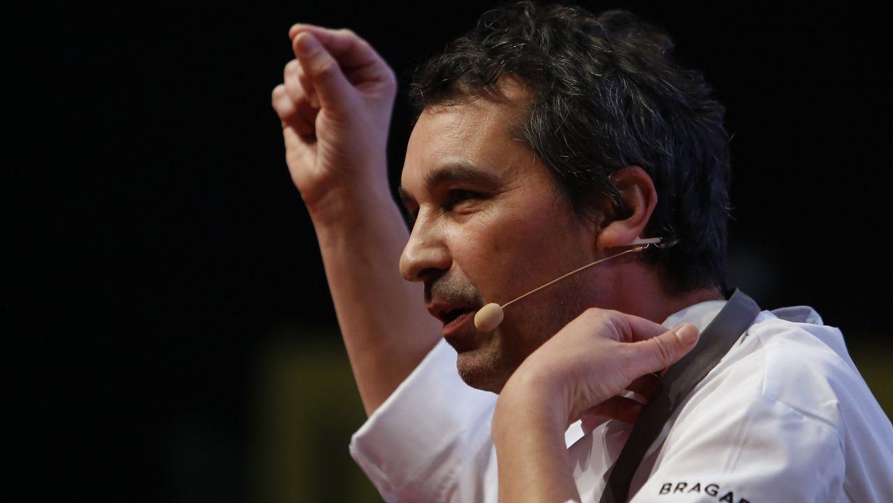 Gerardo Quintela jefe de cocina del restaurante Arallo
