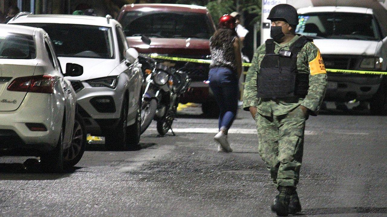 Venezolanos cruzando el río Grande.El Cuarteto Alicerce actúa en el Círculo de las Artes