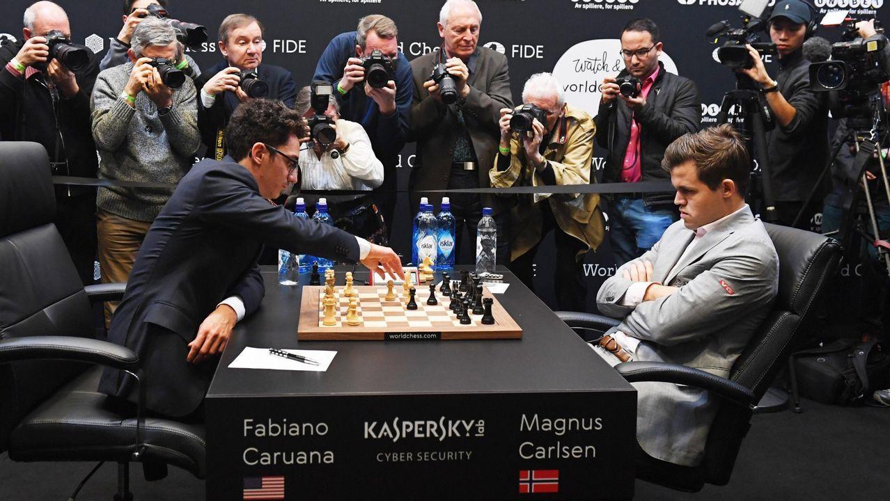 Final del campeonato del Mundo de ajedrez endirecto: Carlsen - Caruana.Mejor cachopo con Ternera Asturias