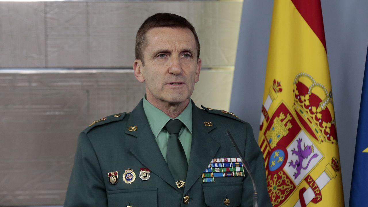 Marlaska niega las declaraciones del jefe del Estado Mayor de la Guardia Civil sobre las críticas al Gobierno.Interior estudiará reforzar la vigilancia en zonas concretas