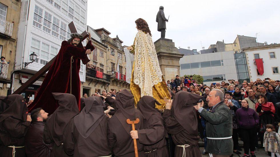 Procesión del Santo Encuentro en Viveiro