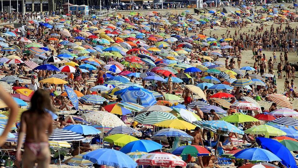 La ola de calor derrite Galicia