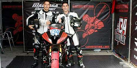 Suzuki VanVan 200, la «fun bike».Alfonso Vázquez correrá en Portimao con una Suzuki de Garnutrition.