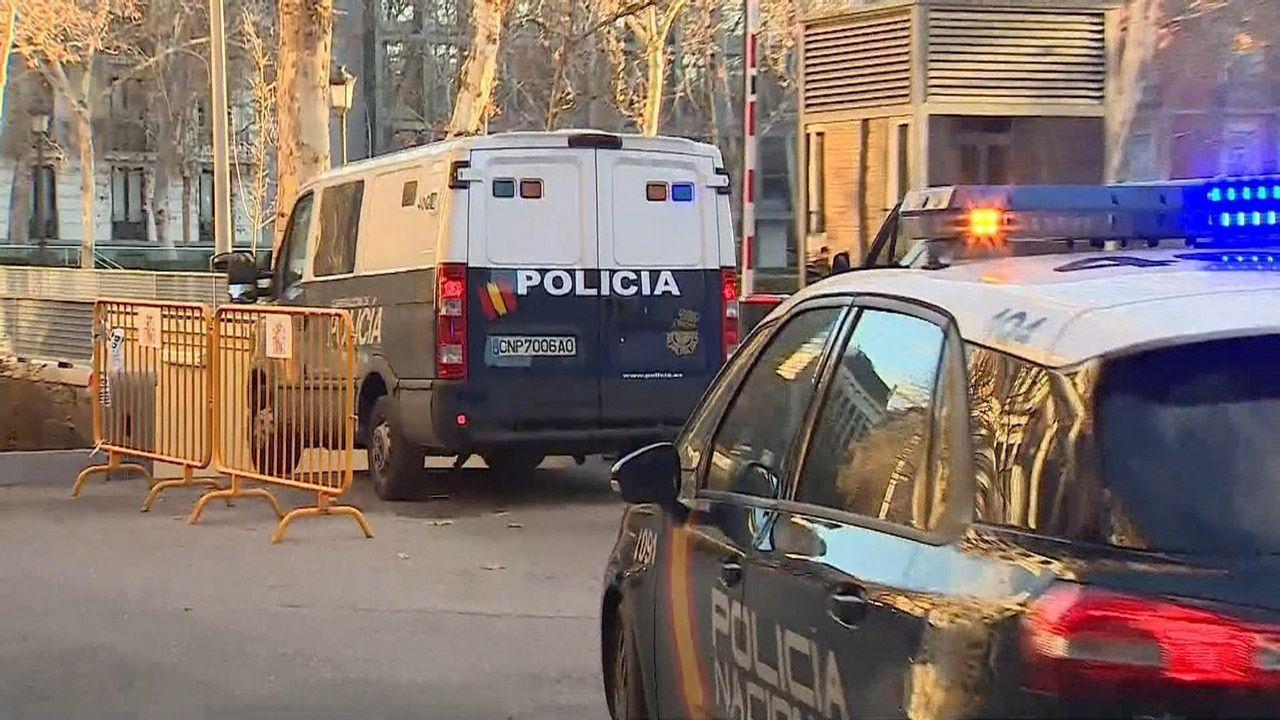 Chalé de Algeciras en el que fue detenido Sito Miñanco