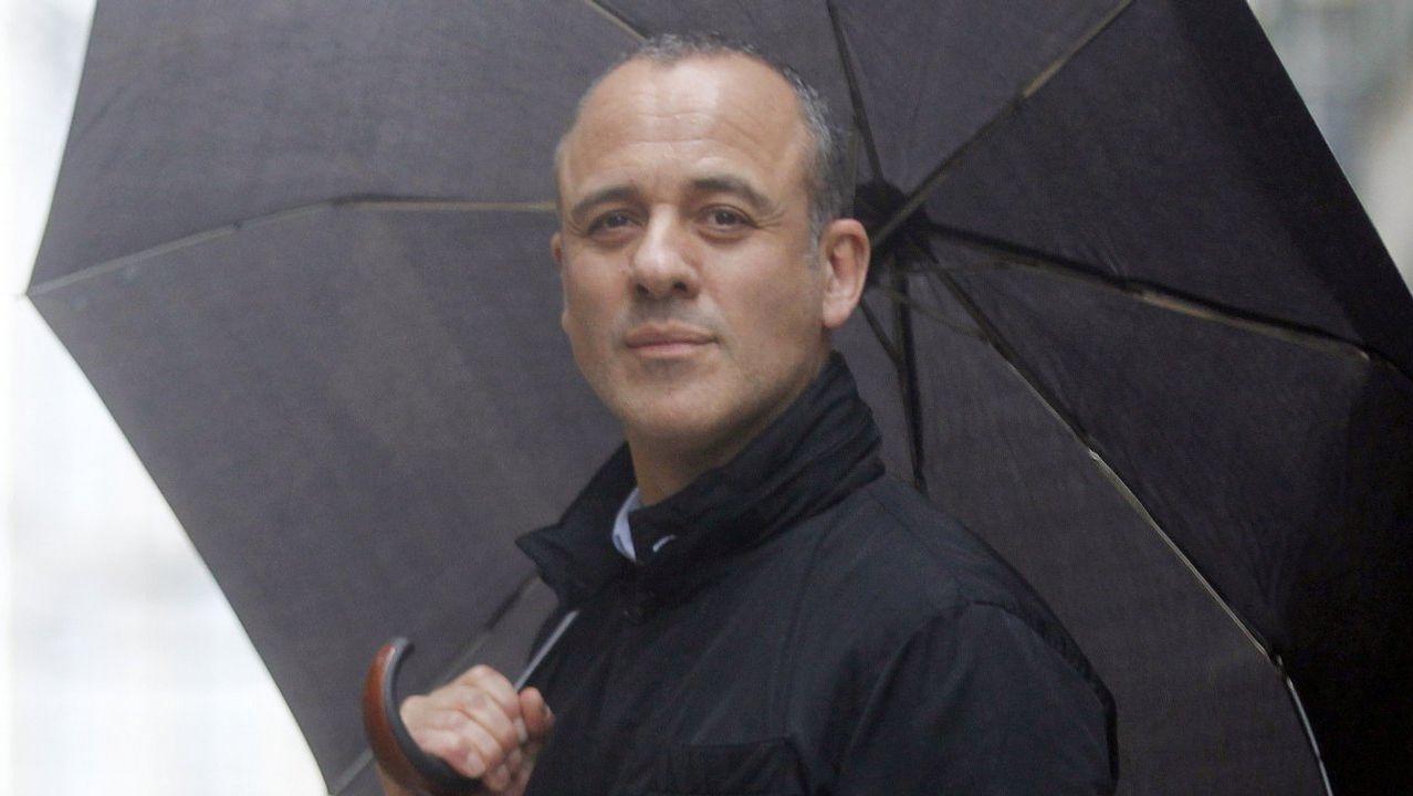 Andreu Buenafuente y Silvia Abril presentarán la gala de los Goya.La actriz Macarena García en San Vicente do Mar