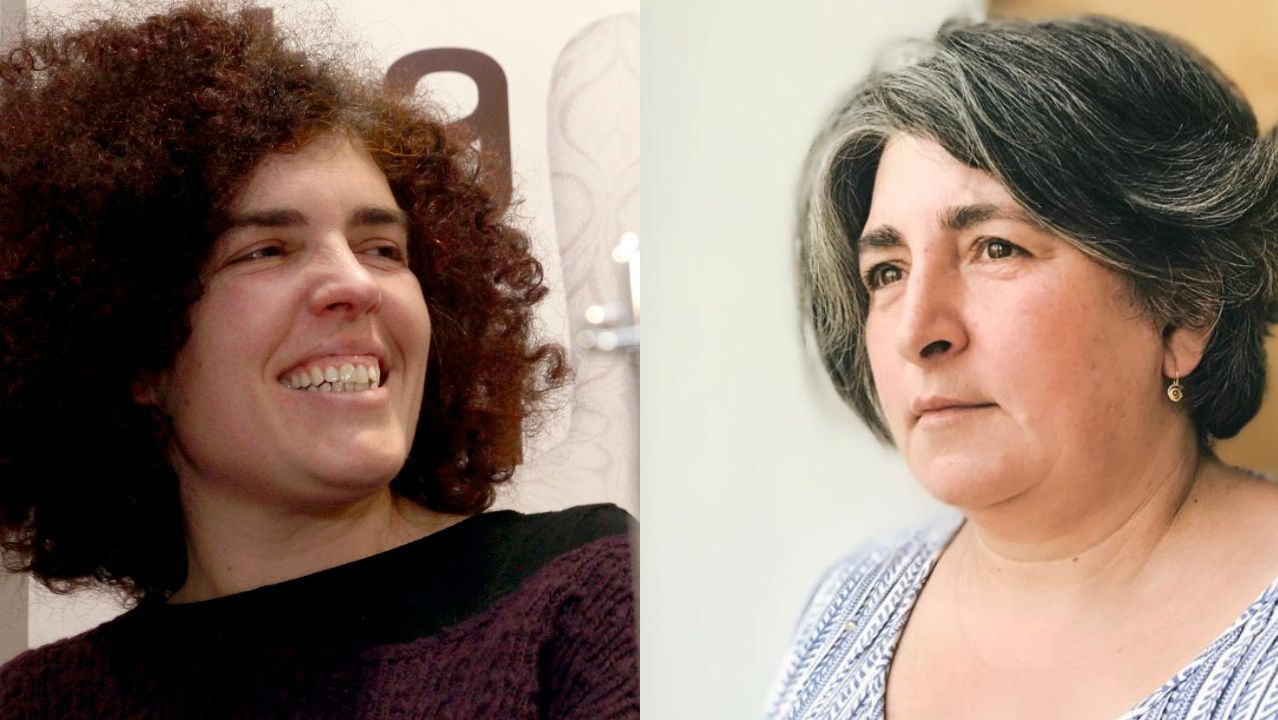 Esther F. Carrodeguas e Carme Varela