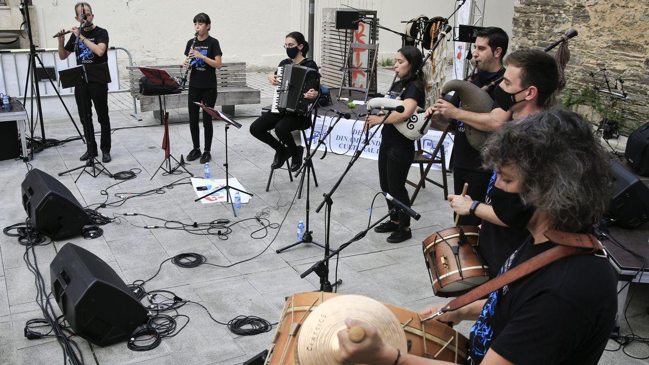 Manifiesto de los trabajadores de la música de Lugo por una «cultura segura»