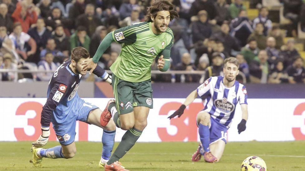Leganés - Celta, en imágenes.Larrivey marcó uno de los goles célticos en la última visita a Riazor