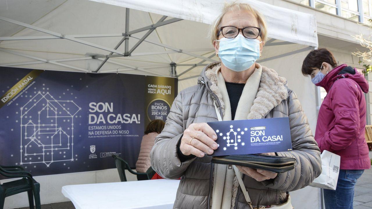 Los bonos pueden adquirirse en Internet o en un punto de venta físico el sábado, en la plaza de Galicia, si no llueve