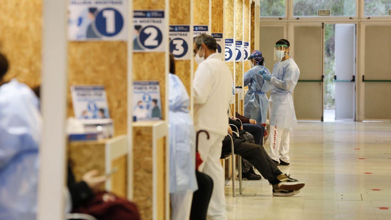 El Sergas habilitará puntos de vacunación en Expourense, donde ya organizó jornadas de cribados masivos, que se desarrollaron con seguridad y agilidad
