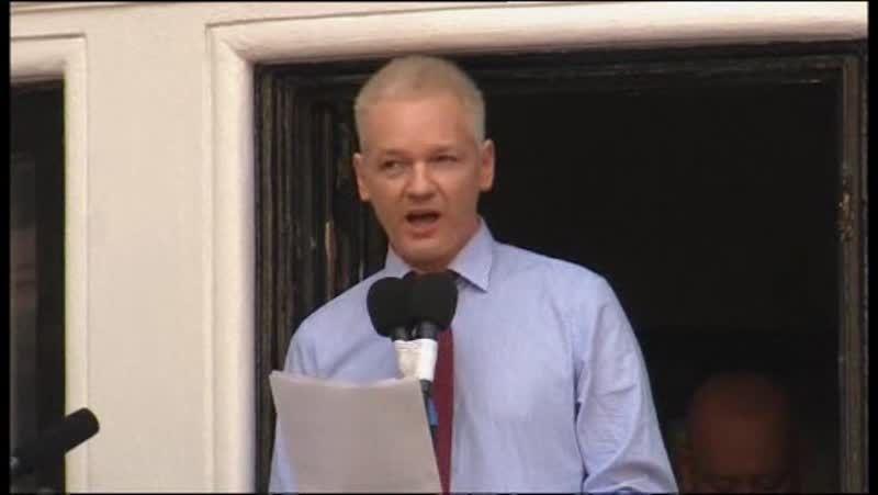 Julian Assange: «Le pido a Obama que haga lo correcto».Julian Assange, el pasado mes de febrero