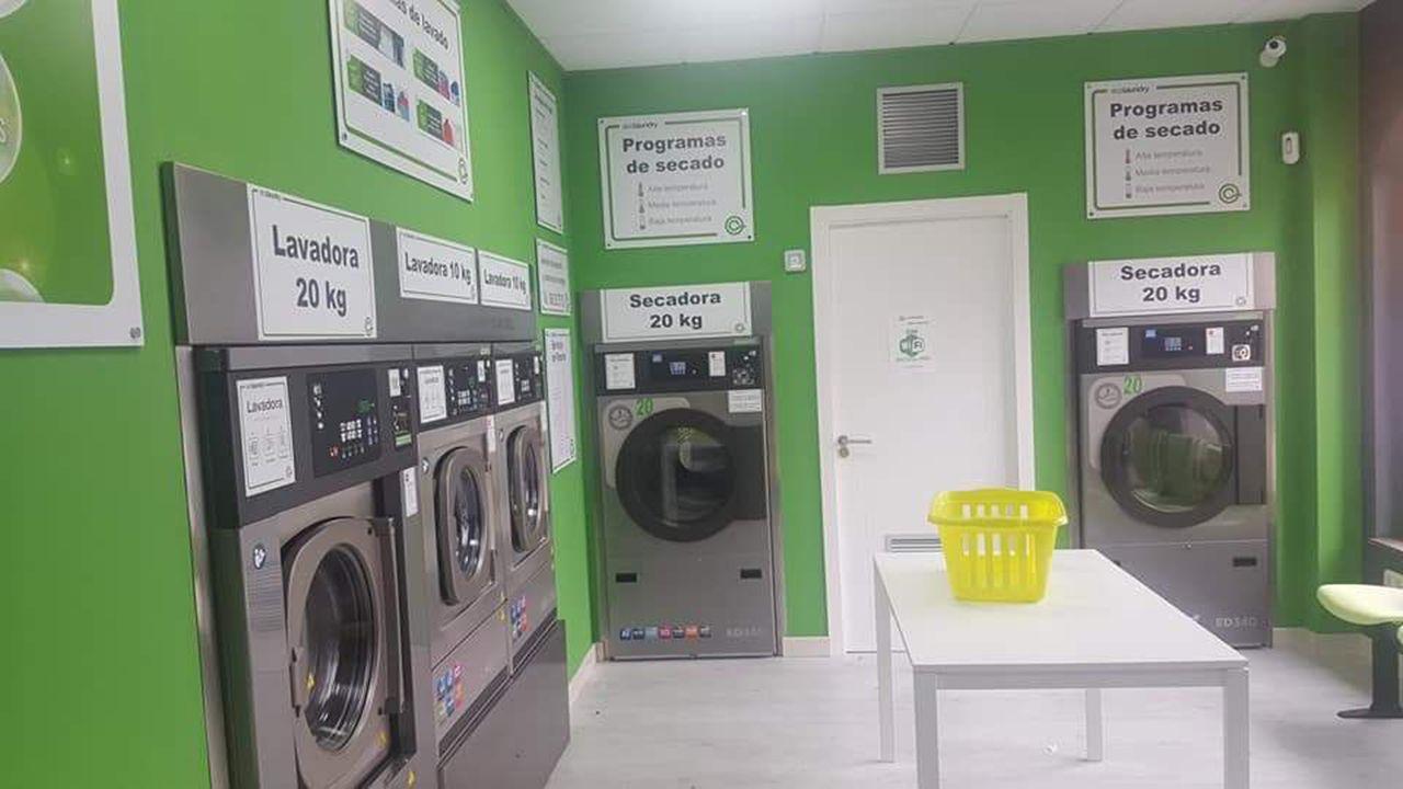 Lavandería de autoservicio