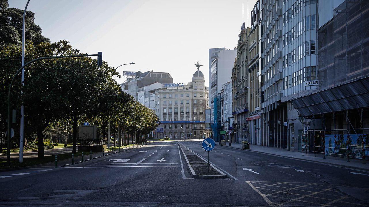 El Cantón Pequeño de A Coruña, vacío