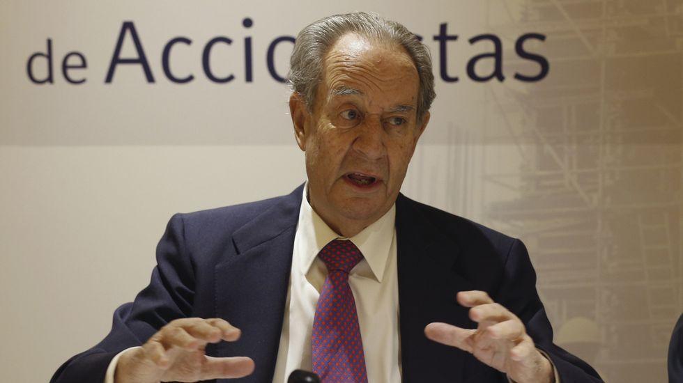 Detenido Javier López Madrid, directivo de OHL y yerno de Villar Mir.Javier López Madrid, a su salida de la Audiencia Nacional tras pagar una fianza de 100.000 euros.