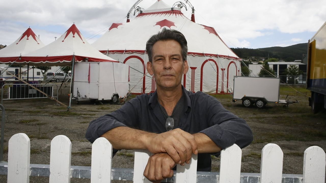 Marco Zeferino, director del Circo Olimpia