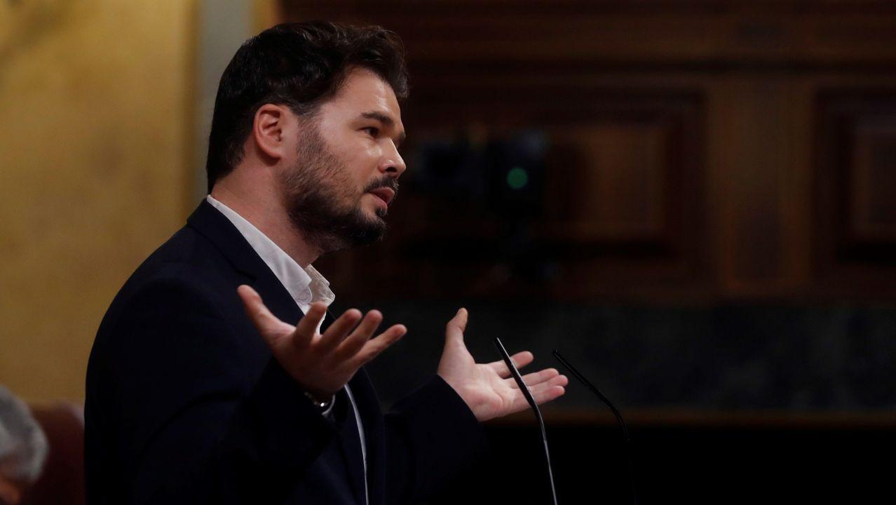 El Gobierno tiende la mano mientras Casado aumenta sus críticas: «Se puede hacer de todo menos el ridículo».El diputado Néstor Rego.