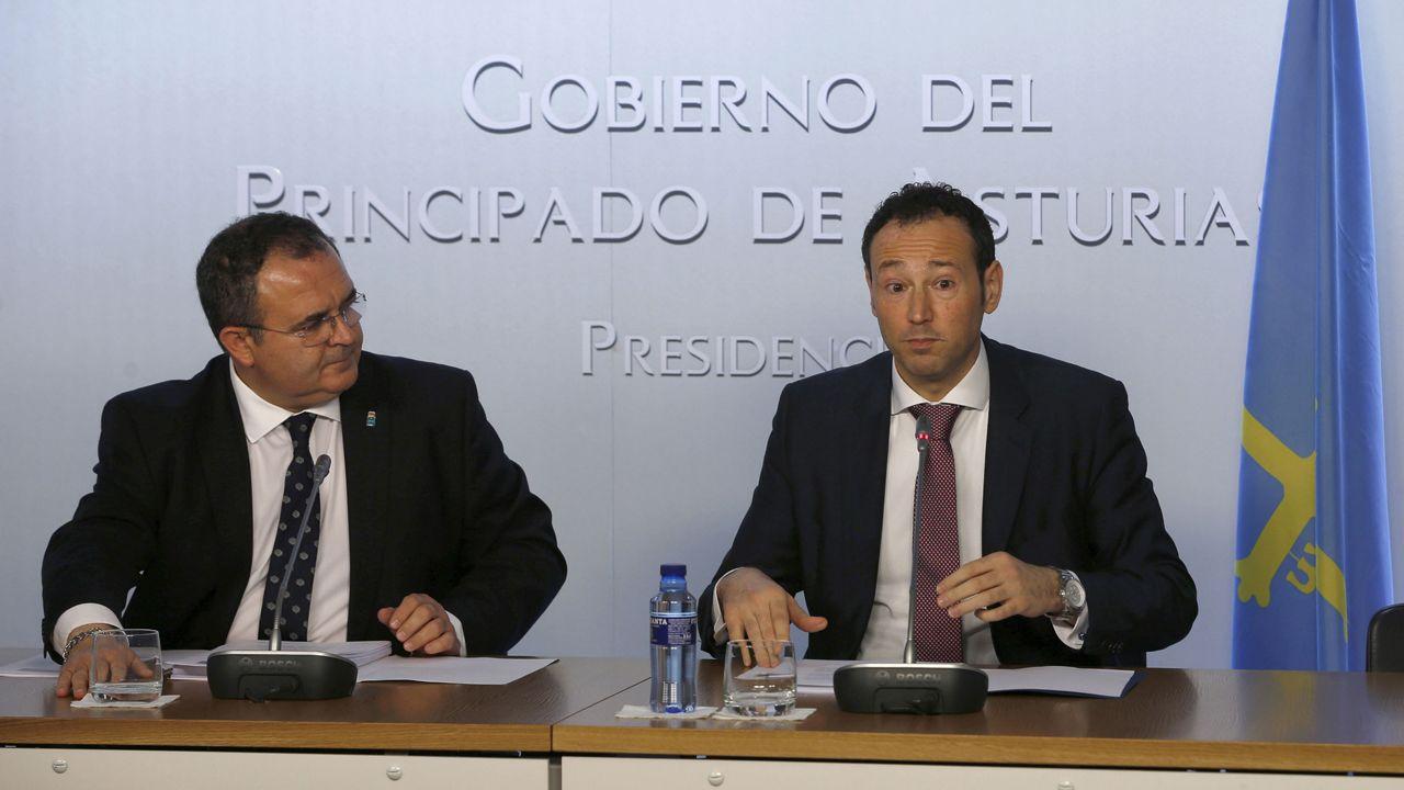 Isaac Pola y Guillermo Martínez