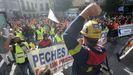 Domingo reivindicativo para trabajadores de Alcoa y de Vestas